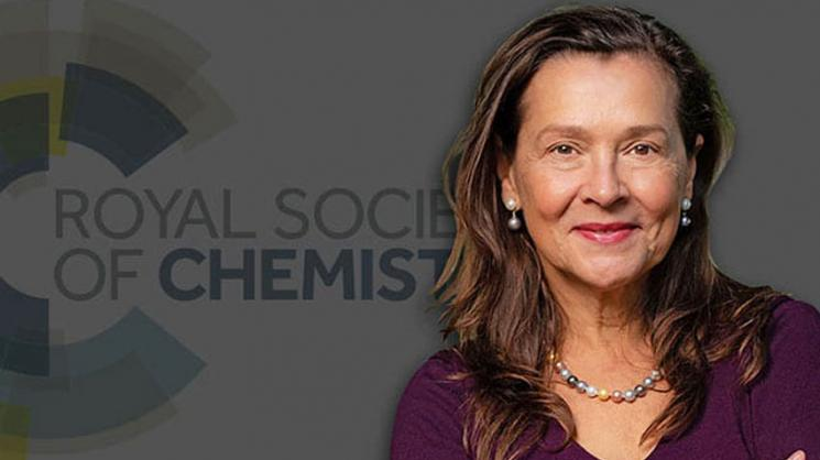 Halas named a fellow of the Royal Society of Chemistry